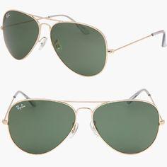 RAY BAN AVIATOR LARGE METAL II Sunglasses Gold - RB3026 L2846 (62mm) Ray-Ban. $95.00. Save 32%!
