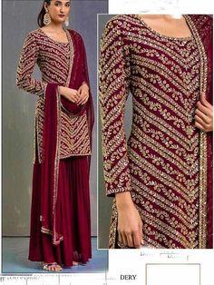Party Wear Indian Dresses, Pakistani Fashion Party Wear, Designer Party Wear Dresses, Indian Fashion Dresses, Kurti Designs Party Wear, Dress Indian Style, Pakistani Dress Design, Pakistani Outfits, Bridal Dresses