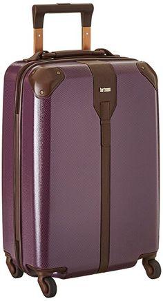 Hartmann Herringbone Luxe Hardside Carry On Spinner, Terracotta Herringbone, One Size Hard Suitcase, Best Luggage, Eggplant, Herringbone, Travel Bags, Terracotta, Carry On, Pouch, Monogram