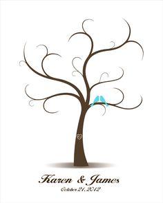 Aves de amor de libro de los árboles los libro por CustombyBernolli