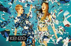 "dog-water: "" peach2003: "" KENZO Spring/Summer '14 campaign ad "" """