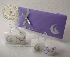 Recuerditos para boda con base en el diseño de la invitación.