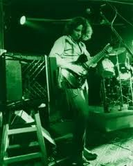 The incomparable Mikey Houser warming up at the Uptown Lounge in the late 80's.  Mikey Houser, founding member of Widespread Panic, passed away 11 years ago today, August 10th.