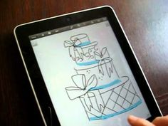 Using the iPad for Cake Decorating