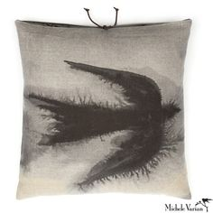 Michele Varian Shop - Printed Linen Pillow Flight Black 18x18