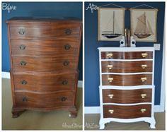 dresser before after