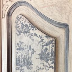 """102 Likes, 10 Comments - DIY Lifestyle Products/Tools (@ironorchid_design) on Instagram: """"How did we get the toile on the door panel? Meet our latest stamp... Releasing soon! #toile…"""""""