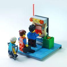 Lego Minifigure, Lego Models, Lego Moc, Lego City, Bricks, Legos, Origami, Cube, Toys
