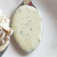 Made the Blue Cheese Sause, it was incredible. I recommend with mushrooms.