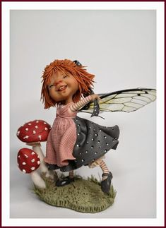 enaidsworld: Fairy puppets: