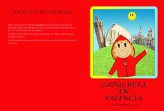 """Cubierta del cuento """"Capucheta en Valencia""""."""