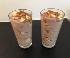 Zdravý dezert – hotový za 5 minút | EXIsport Cooking Recipes, Healthy Recipes, Health Diet, Diy Food, Sweet Recipes, Smoothies, Healthy Lifestyle, Deserts, Food And Drink
