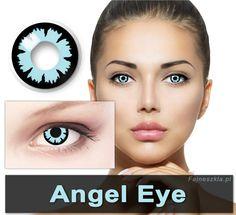 Soczewki kontaktowe - ANGEL EYE - Imprezowe soczewki kontaktowe Crazy - 2szt.