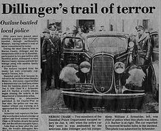 John Dillinger  My great great grandfather lol.