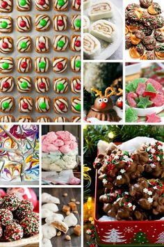 Christmas candy recipes including divinity and peanut clusters.