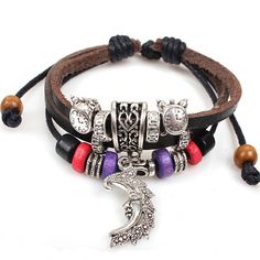 Free Crescent Moon Bracelet with every purchase in April!  Only while stocks last! http://ift.tt/28Pis7W #freegift #free #onlineshopping #gypsy #boho #bohemian #folk #jewlery Leather Charm Bracelets, Bracelets For Men, Fashion Bracelets, Bracelets With Meaning, Cord Bracelets, Braided Bracelets, Silver Bracelets, Friendship Bracelets, Bangles