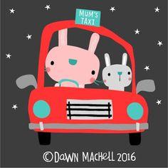 DAWN MACHELL - on the road again....