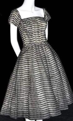 vintage ceil chapman dress
