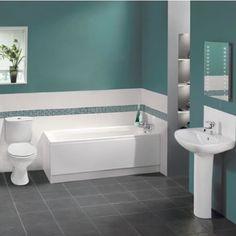 Melbourne 1200 5 Piece Bathroom Suite