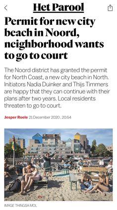 North Coast, City Beach, New City, Amsterdam, The Neighbourhood, To Go, How To Plan, News, The Neighborhood