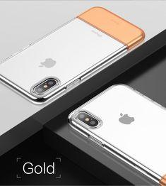 Baseus Protective Case For iPhone XS Hybrid Color Transparent Fingerprint Resistant Back Cover Pc Cases, Iphone Cases, Online Shopping For Women, Iphone Models, Pouch Bag, Phone Covers, Protective Cases, Phone Accessories, Gadgets