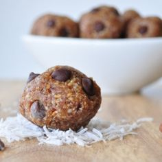 Almond Joy Energy Bites by mywholefoodlife