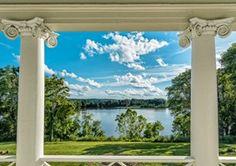 Belle Grove Plantation Riverside Balcony by Rich Johnson Photography