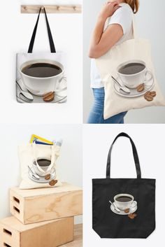 Coffee style tote bag to add to your bag collection and can hype up your fashion, click on the link for more colors, styles and designs. Order yours now. ♥