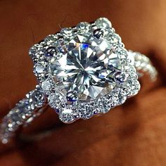 So pretty. I love the smaller diamonds around the square, bigger one. … …                                                                                                                                                                                 More