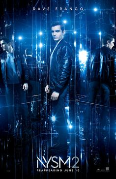 NOW YOU SEE ME 2 movie poster No.3 w/ Dave Franco