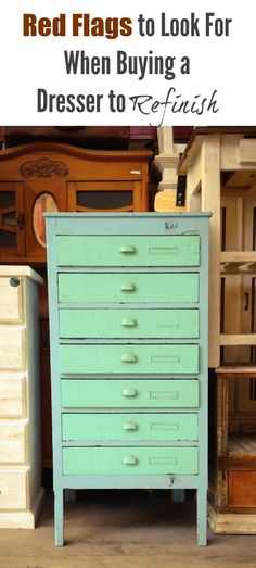 Dressers are usually used daily and if a child is using it, you can bet that the drawer weight bearing strength and sliding capabilities. After having refinished many different types …
