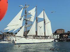 Sailing Ship Marite - Weymouth Harbour Weymouth Harbour, Scenic Photography, Tall Ships, Sailing Ships, Boats, British, History, Ships, Historia