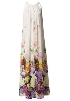 MERLA - Vestido largo - blanco