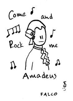 Falco. Rock me Amadeus.