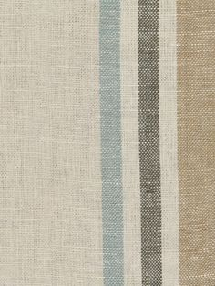 215697 Josie Stripe Mineral by Robert Allen Chair Fabric, Fabric Decor, Living Room Chairs, Dining Chair, Dining Room, Cotton Decor, White Cottage, Grain Sack, Robert Allen