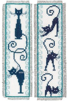 Shop online for Cheerful Cats Bookmarks Cross Stitch Kit at sewandso.co.uk. Browse our great range of cross stitch and needlecraft products, in stock, with great prices and fast delivery.