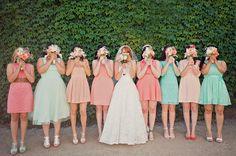 ドレスコードの参考にも!海外のブライズメイドが花嫁よりも可愛いかも♡|MERY [メリー]