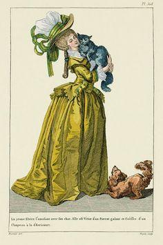 EKDuncan - My Fanciful Muse: 1783-1787 French Fashion Plates