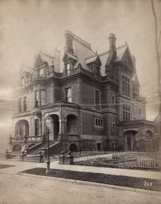 Chi Moses D Wells Res Wheelock and Clay #victorianarchitecture