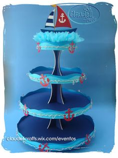 Claudell Crafts: +Fiesta Temática: Náutica+ Navy Party, Nautical Party, Baby Shower Games, Baby Boy Shower, Sailor Party, Happy Birthday Jesus, Baby Shawer, Pirate Party, Holidays And Events