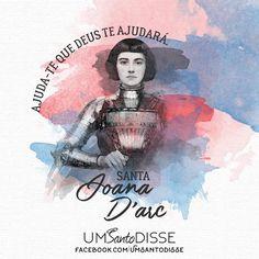 Joana D'Arc Joan D Arc, Saint Joan Of Arc, St Joan, Saint Quotes, Held, Vintage Cards, Inktober, Women Empowerment, Medieval