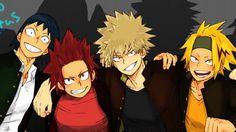 My Hero Academia - Sero, Kirishima, Bakugou & Kaminari