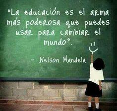 El énfasis en que la educación puede cambiar el mundo, nos lleva justamente a preguntarnos, si para que esto suceda no es necesario también, cambiar la educación.