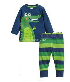 Barato [ Z. ] Pijamas crianças pijama define crianças sleepwear pijama conjuntos de Pijamas de meninos meninas S6, Compro Qualidade Conjuntos de Pijama diretamente de fornecedores da China: Produtos 2015 bebê pijamas crianças pijamas conjuntos crianças Pijamas Pijamas Meninos Meninas croco