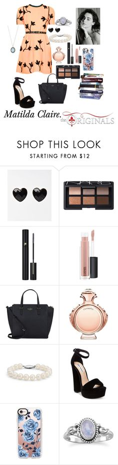 """Matilda Claire. House of the Raising Son."" by thatnellegirl on Polyvore featuring NARS Cosmetics, Lancôme, MAC Cosmetics, Kate Spade, Paco Rabanne, Blue Nile, Steve Madden, Casetify and Armenta"