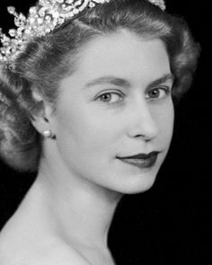 [ Queen Elizabeth ] I think it's hard now to realize now how beautiful she was