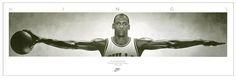 Juliste Michael Jordan - Wings, basketball