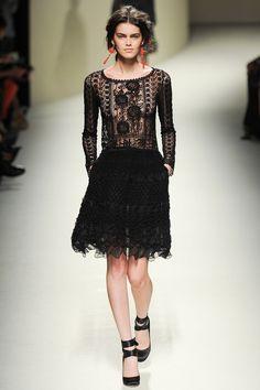 Alberta Ferretti | Spring 2014 Ready-to-Wear Collection | kicsit  Đ&G feeling de szép