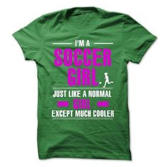Cool soccer girl T Shirts, Hoodies. Get it here ==► https://www.sunfrog.com/LifeStyle/Cool-soccer-girl.html?57074 $23