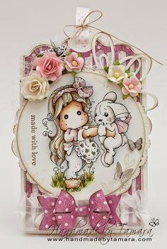 Tilda w/ Inez the Bunny / Handmade by Tamara
